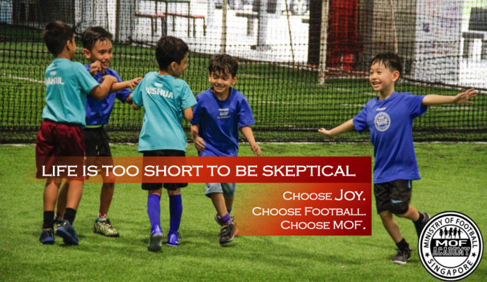 Academy-Life is too short to be skeptical, choose joy